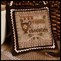 Hot cocoa by Little House Needlework
