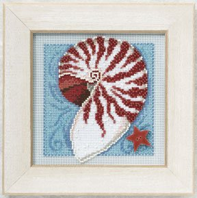Nautilus shell-MH140105- by Mill Hill