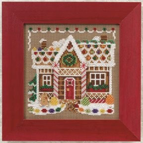 Ginger bread house-MH140306- by Mill Hill
