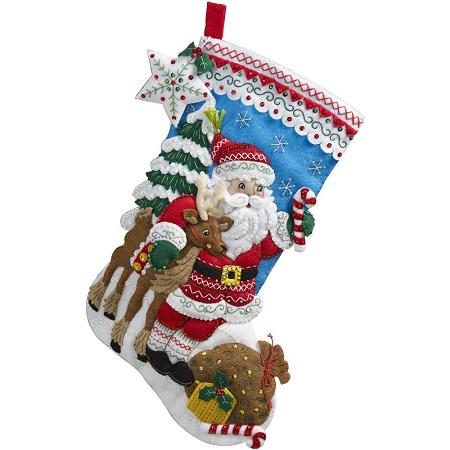 Nordic Santa by Bucilla