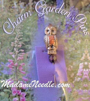 Owl pin by Just Nan