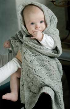 Baby Shawl by Permin