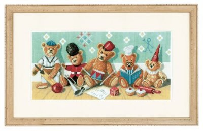 Teddy Bears by Lanarte