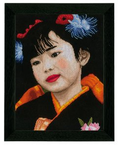 Little Japanese Girl by Lanarte