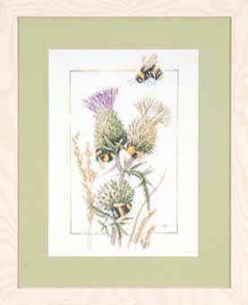 Thistle Bees by Marjolein Bastin by Lanarte