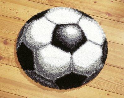 Soccer Rug by Vervaco