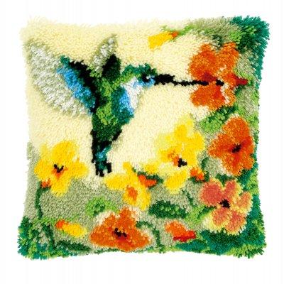 Hummingbird and flowers,PNV146770,Vervaco