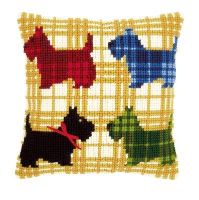 Colorful doggies,PNV150016,Vervaco