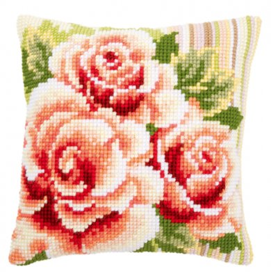 Pink roses,PNV147148,Vervaco