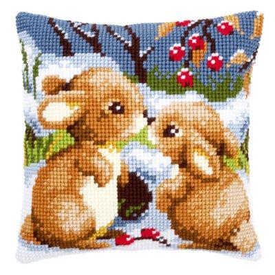 Snow rabbits,PNV21832,Vervaco