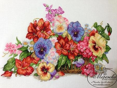 Garden flowers,K-13, by Merejka