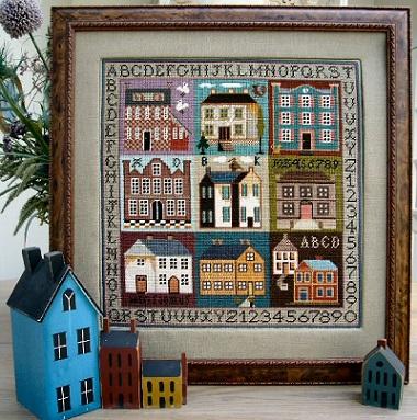 Sampler houses by The Sampler Company