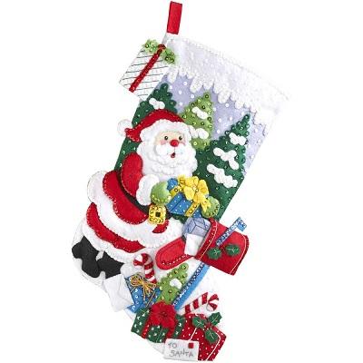 Santa's mailbox by Bucilla