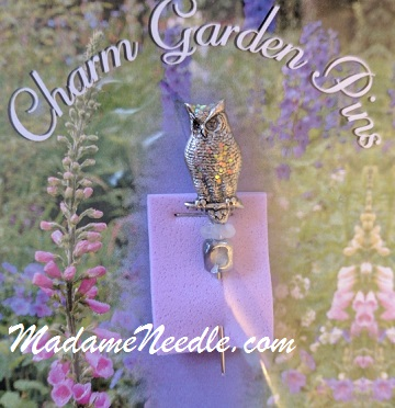 Snow Owl pin by Just Nan