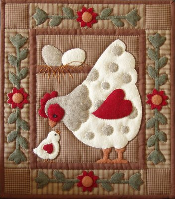 Spotty hen by Rachael's of Greenfield