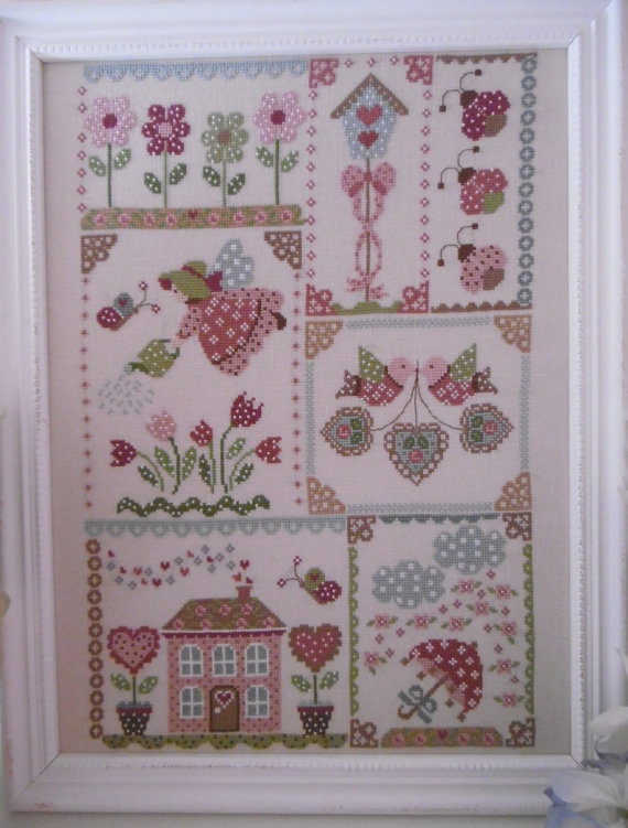 Spring in quilt by Cuore e Batticuore