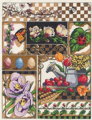 Spring Montage by Janlynn