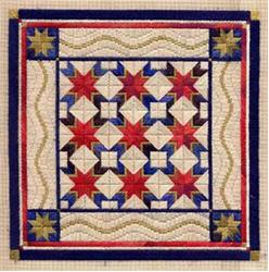 Star Spangled Quilt by Laura J.Perin Designs