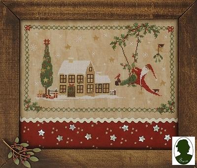 Swingin Santa by Sara Guermani