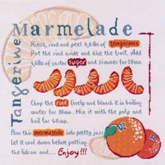 Tangerine marmelade by Lili Points