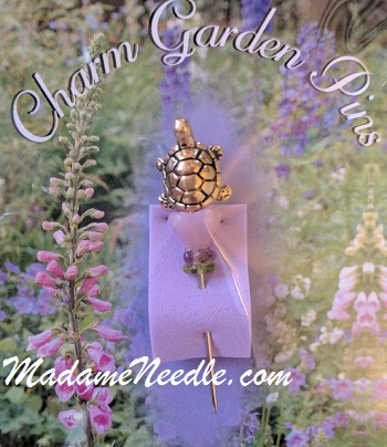 Turtle pin by Just Nan