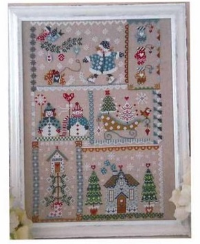 Winter in quilt by Cuore e Batticuore