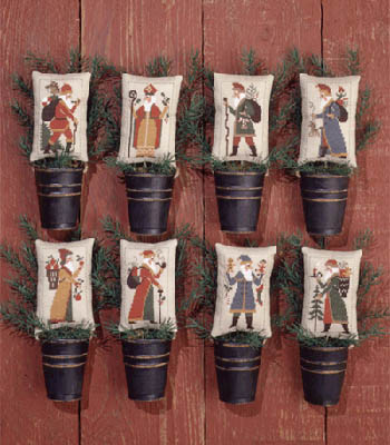 Old World Santas II by the Prairie Schooler
