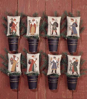 The Prairie Schooler Old World Santas II