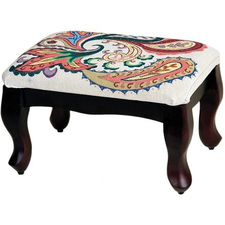 """Sudberry House Mahogany Classic Footstool 12""""X17""""X9"""""""