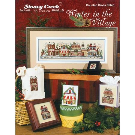Stoney Creek -418- Winter in the Village