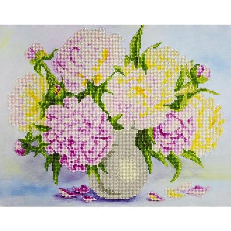 Leisure Arts Diamond Art BOUQUET FLOWERS Advanced Kit 14X16