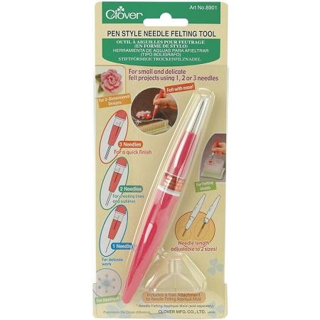 Clover Pen Style Needle Felting Tool