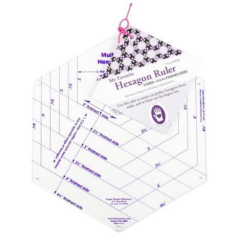 Marti Michell 8060M My Favorite Hexagon Ruler
