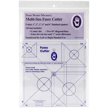 Marti Michell 8297M Multisize Fussy Cutter Ruler