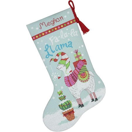 Dimensions 70-08977 Llama stocking