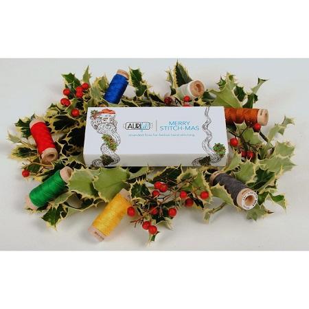 Aurifil Merry Stitch-Mas Floss Collection