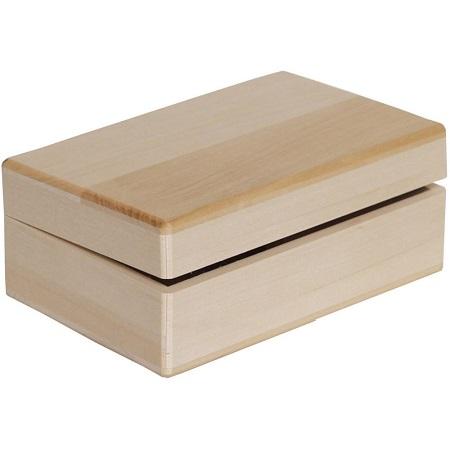 Walnut Hollow Basswood Hinged Box