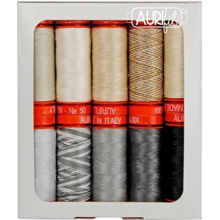 Aurifil Designer Thread Collection-Black Diamond By Kaye England
