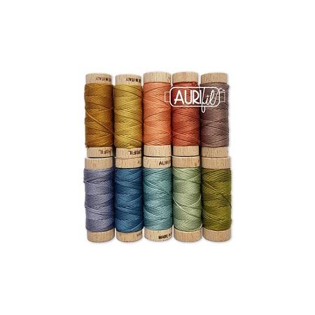 Aurifil Designer Thread Collection-Susan Ache Little Quaker Abc