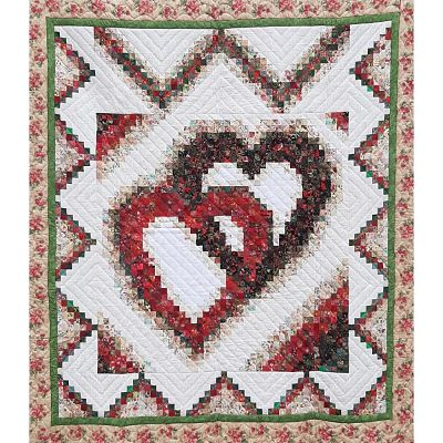 Rachel's Of Greenfield Linking hearts Quilt Pattern