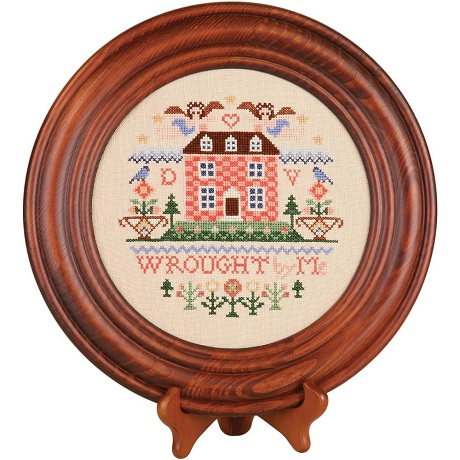 Sudberry House Mahogany Crown Plate 11.5 Round