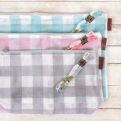 It's Sew Emma Mesh Project Bag Set 3/Pkg