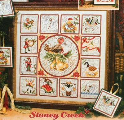 Stoney Creek -408- 12 Days Of Christmas With Ornaments