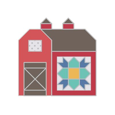 It's sew Emma Quilted barn by Lori Holt needleminder