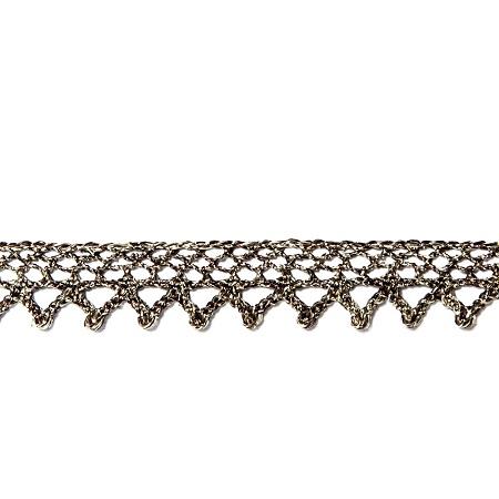 Garniture - Antique Metallic Bronze Lace GAR-2712
