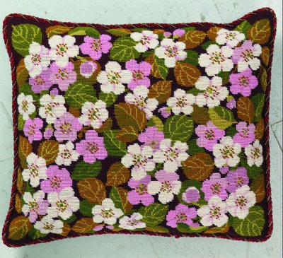 Apple Blossoms Pillow by Eva Rosenstand