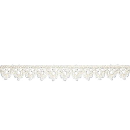 Garniture - 1/4 inch Cotton Lace 1008 Ecru
