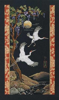 Cranes by Janlynn