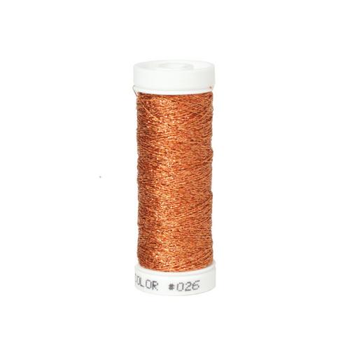 Accentuate Metallic Thread - 026 Ripe Apricot