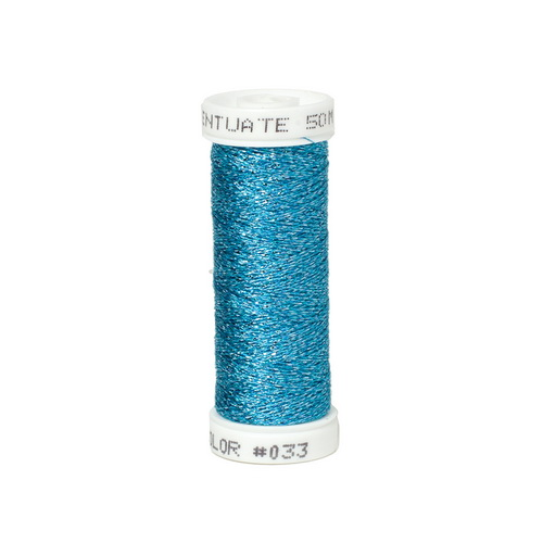 Accentuate Metallic Thread - 033 Blue Lagoon